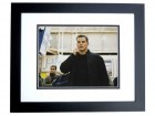 Matt Damon Signed - Autographed The BOURNE IDENTITY 11x14 inch Photo BLACK CUSTOM FRAME - Guaranteed to pass PSA or JSA