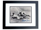Monte Irvin Signed - Autographed San Francisco Giants 8x10 inch Photo BLACK CUSTOM FRAME - Guaranteed to pass PSA or JSA