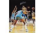 Magic Johnson Signed - Autographed Los Angeles Lakers 16x20 NO LOOK PASS Photo - Guaranteed to pass PSA or JSA with PSA/DNA Authenticity
