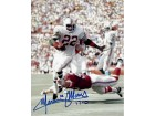 Mercury Morris Signed - Autographed Miami Dolphins 8x10 inch Photo - Guaranteed to pass PSA or JSA with 17-0 Inscription