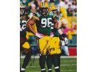 Michael Neal Signed - Autographed Green Bay Packers 8x10 inch Photo - Guaranteed to pass PSA or JSA - Super Bowl XLV Champion