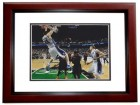 Miles Plumlee Signed - Autographed Duke Blue Devils 8x10 inch Photo MAHOGANY CUSTOM FRAME - Guaranteed to pass PSA or JSA - 2010 National Champion