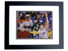 Miles Plumlee Signed - Autographed Duke Blue Devils 8x10 inch Photo BLACK CUSTOM FRAME - Guaranteed to pass PSA or JSA