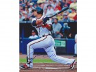 Martin Prado Autographed Atlanta Braves 8x10 Photo