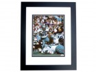 Mel Renfro Signed - Autographed Dallas Cowboys 8x10 inch Photo BLACK CUSTOM FRAME - Guaranteed to pass PSA or JSA - Hall of Famer - 2x Super Bowl Champion