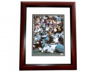 Mel Renfro Signed - Autographed Dallas Cowboys 8x10 Photo MAHOGANY CUSTOM FRAME - Hall of Famer - 2x Super Bowl Champion