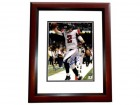 Matt Ryan Signed - Autographed Atlanta Falcons 8x10 inch Photo - MAHOGANY CUSTOM FRAME - Guaranteed to pass PSA or JSA - Sports Memorabilia.com Certificate of Authenticity (COA)