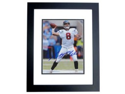 Matt Schaub Signed - Autographed Houston Texans 8x10 inch Photo BLACK CUSTOM FRAME - Guaranteed to pass PSA or JSA