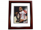 Matt Schaub Signed - Autographed Houston Texans 8x10 PRO BOWL Photo MAHOGANY CUSTOM FRAME