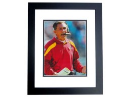 Mike Shanahan Signed - Autographed Washington Redskins 8x10 inch Photo BLACK CUSTOM FRAME - Guaranteed to pass PSA or JSA