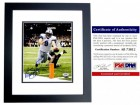 Matthew Stafford Signed - Autographed Detroit Lions 8x10 inch Photo BLACK CUSTOM FRAME - PSA/DNA Certificate of Authenticity (COA)