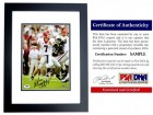 Matthew Stafford Signed - Autographed Georgia Bulldogs 8x10 inch Photo - BLACK CUSTOM FRAME - PSA/DNA Certificate of Authenticity (COA)