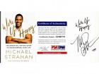 Michael Strahan Signed - Autographed Wake Up Happy Hardcover Book with PSA/DNA Certificate of Authenticity (COA) - New York Giants