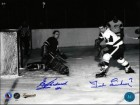 Ted Lindsay & Ed Chadwick Dual Signed 8X10 Photo Hockey Photo