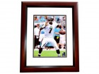 Michael Vick Signed - Autographed Philadelphia Eagles 8x10 inch Photo MAHOGANY CUSTOM FRAME - Guaranteed to pass PSA or JSA