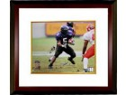 Ladainian Tomlinson signed TCU Horned Frogs 16x20 Photo Custom Framed- Tomlinson Hologram