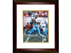 Warren Moon signed Houston Oilers 8x10 Photo HOF 06 Custom Framed