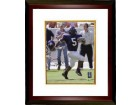 Ladainian Tomlinson signed TCU Horned Frogs 8X10 Photo Custom Framed- Tri-Star/Tomlinson Holograms