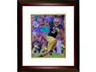 Michael Floyd signed Notre Dame Fighting Irish 8x10 Photo Custom Framed- Steiner Hologram