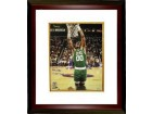 Robert Parish signed Boston Celtics 16x20 Photo 4 X NBA Champs Custom Framed