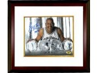 George Gervin signed San Antonio Spurs ICE 16X20 Photo HOF 96 Custom Framed