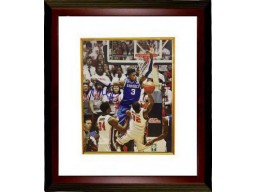 Nerlens Noel signed Kentucky Wildcats 8x10 Photo Custom Framed vs Ole Miss