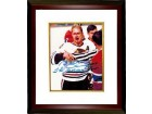 "Bobby Hull signed Chicago Blackhawks 8x10 Photo Custom Framed ""The Golden Jet"" Blood"