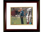 Marv Levy signed Buffalo Bills 8X10 Photo HOF 01 Custom Framed