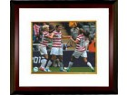 Abby Wambach signed 16X20 Photo Celebration vs New Zealand 2012 London Olympics Custom Framing (Women's Soccer Team USA)