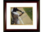 Frank Thomas signed Chicago White Sox Color 16x20 Photo Batting Horizontal Custom Framed (Hall of Fame 2014)