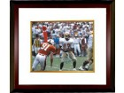 Charlie Ward signed Florida State Seminoles 16X20 Photo Custom Framed 93 Heisman (horizontal)