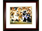 John Mackey signed Baltimore Colts 8x10 Photo Custom Framed HOF 1992 (horizontal vs Patriots)