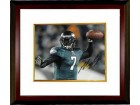 Michael Vick signed Philadelphia Eagles 8X10 Photo Custom Framed (horizontal)- PSA/JSA/BAS Guaranteed To Pass