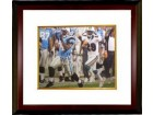Deangelo Williams signed Carolina Panthers 16x20 Photo Custom Framed 98 YD TD 8-24-06 LTD