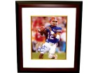Chris Leak signed Florida Gators 8x10 Photo 06Champs Custom Framed