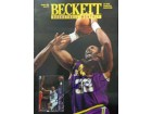 Karl Malone Signed Beckett Magazine (Cover Only, Dated: 10/1995)
