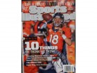 Peyton Manning (Denver Broncos) Signed Sports Illustrated Magazine Dated 1/27/14