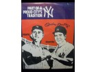 Mickey Mantle (New York Yankees) Signed 11x14 Part of a proud city's tradition Poster