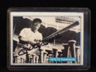 Mickey Mantle Signed Authentic Sports Autographs Card Number 63 1973 TV Commercial