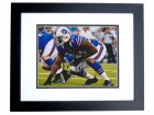 Mario Williams Signed - Autographed Buffalo Bills 8x10 inch Photo BLACK CUSTOM FRAME - Guaranteed to pass PSA or JSA