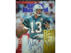 Dan Marino (Miami Dolphins) Singed Sports Illustrated Magazine 1/14/91 (Slight Tear and Label Removed Marks)