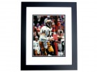 Dan Marino Signed - Autographed Pittsburgh Panthers 8x10 Pitt Photo BLACK CUSTOM FRAME - Guaranteed to pass PSA or JSA