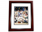 Mark Prior Signed - Autographed Chicago Cubs 8x10 inch Photo MAHOGANY CUSTOM FRAME - Guaranteed to pass PSA or JSA
