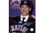 Kazuo Matsui (New York Mets) Signed 8x10 Photo