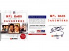 Donovan McNabb and DeMaurice Smith Signed - Autographed NFL Dads Dedicated to Daughters Hardcover Book with PSA/DNA Certificate of Authenticity (COA)