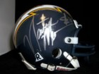 Natrone Means (San Diego Chargers) Signed Replica Mini Helmet