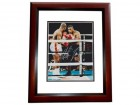 Mike Tyson Signed - Autographed Boxing 8x10 inch Photo MAHOGANY CUSTOM FRAME - Guaranteed to pass PSA or JSA