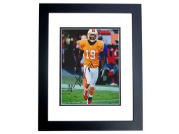 Mike Williams Signed - Autographed Tampa Bay Buccaneers - Tampa Bay Bucs 8x10 THROWBACK Photo BLACK CUSTOM FRAME - Guaranteed to pass PSA or JSA