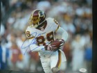 Santana Moss Signed 11x14 (James Spence Authenticated)