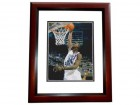 Marvin Williams Signed - Autographed North Carolina Tar Heels 8x10 inch Photo MAHOGANY CUSTOM FRAME - Guaranteed to pass PSA or JSA - 2005 National Champion